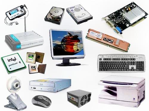 انواع سخت افزار کامپیوتر