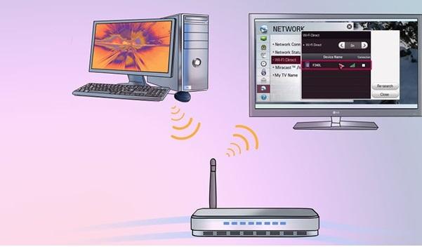 آموزش اتصال کامپیوتر و لپ تاپ به تلویزیون